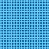 Blue abstract technology background with seamless. Square perforated pattern for web sites, user interfaces (UI), applications (apps) and business presentations Royalty Free Stock Photos