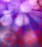 Blue abstract  texture background. Blur blue and red background with an illuminated circles Stock Photo