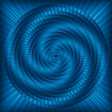 Blue abstract twirl Royalty Free Stock Photography
