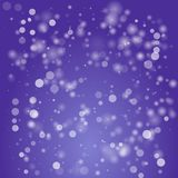 Blue abstract Vector background with bokeh defocused lights concept design. Vector illustration Stock Illustration