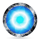 Blue abstract vector round Royalty Free Stock Photography