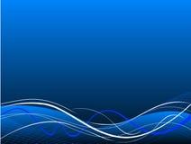 Blue abstract vector rush  background Stock Photos