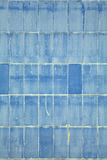 Blue abstract wall stock photography