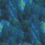 Blue abstract watercolor art seamless texture Royalty Free Stock Photo