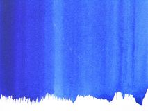 Blue abstract watercolor background Stock Image