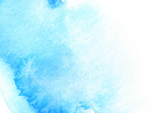 Blue abstract watercolor background design paint Royalty Free Stock Images