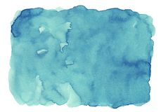 Blue abstract watercolor background for textures backgrounds and web banners design.  vector illustration