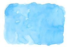 Blue abstract watercolor background for textures backgrounds and web banners design.  royalty free illustration