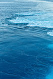 Blue abstract wave ocean water background Royalty Free Stock Photos