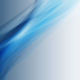 Blue abstract waves background Stock Photos