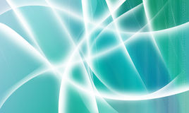 Blue abstract wavy background Royalty Free Stock Image
