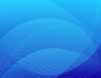 Blue abstract / web background Stock Photo