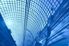 Blue abstraction Stock Photos