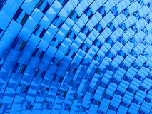 Blue abstraction Stock Image