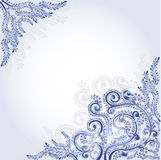 Blue abstraction background Royalty Free Stock Photos