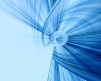 Blue abstraction background Stock Photos