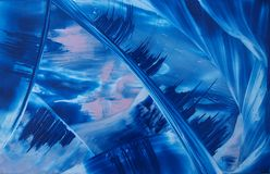 Blue abstraction Royalty Free Stock Images