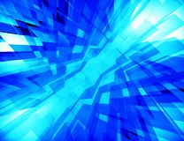 Blue abstraction Royalty Free Stock Photos