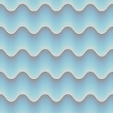 Blue abstrct wave 3d seamless background. EPS 10 vector. Blue abstrct wave 3d seamless background. And also includes EPS 10 vector Stock Photos