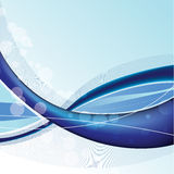 Blue absttract background Stock Images
