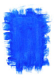 Blue acrylic background Royalty Free Stock Photos