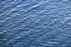 Blue Adriatic sea water background texture Stock Photography