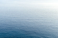 Blue aegean sea. Stock Image