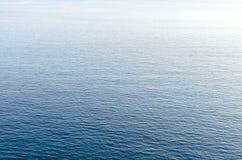 Blue aegean sea. Clear water landscape of aegean sea Stock Image