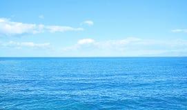 Blue Aegean Sea. This image was taken in Kusadasi, Turkey Royalty Free Stock Photography