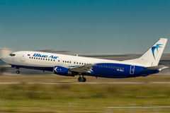 Blue Air Photos libres de droits