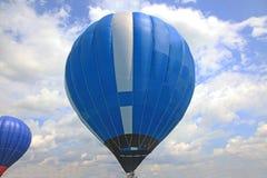 Blue air balloon Royalty Free Stock Image