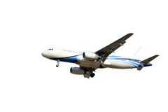 Blue Airplane Royalty Free Stock Photo