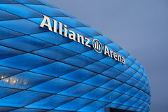 Blue Allianz Arena TSV 1860 Munich Stock Images