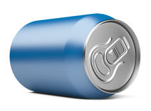 Blue Aluminum Can Stock Images