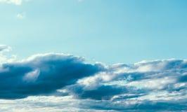 Blue Beautiful Sky royalty free stock image