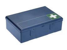 Blue ambulance box Royalty Free Stock Images