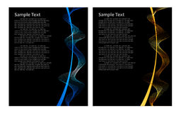 Free Blue And Gold Abstract Background Royalty Free Stock Image - 12731656