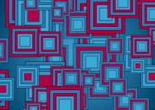 Free Blue And Purple Squares Abstract Tech Geometry Background Royalty Free Stock Image - 153254036