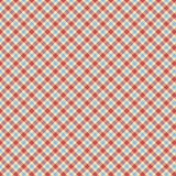 Blue And Red Tartan Check Repeat Wallpaper Pattern Royalty Free Stock Photography