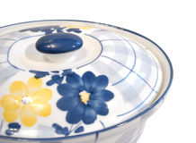 Free Blue And Yellow Saucepan Royalty Free Stock Photo - 2428895