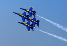 Free Blue Angel Airshow At Robins AFB Stock Images - 36298464