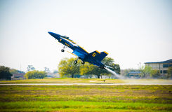 Blue Angel Fighter Jet Stock Images