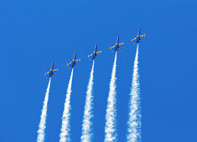 Blue Angel Formation Stock Photography