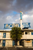 Blue Angel Motel Stock Photos