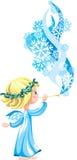 Blue angel Stock Photo