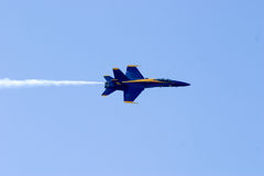 Blue Angels. F-18 Blue Angels Aerobatic Team Royalty Free Stock Image