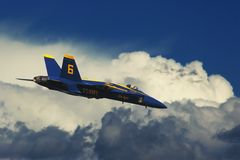 Blue Angels #4. Royalty Free Stock Images