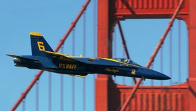 Blue Angels. Royalty Free Stock Image