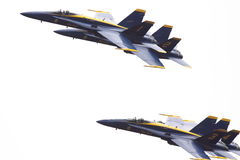 Blue angels 7-6-10   2 Royalty Free Stock Images
