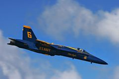Blue Angels. royalty free stock photography